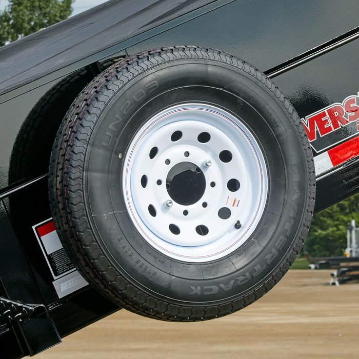 A spare tire holder   Construction Pro Tips