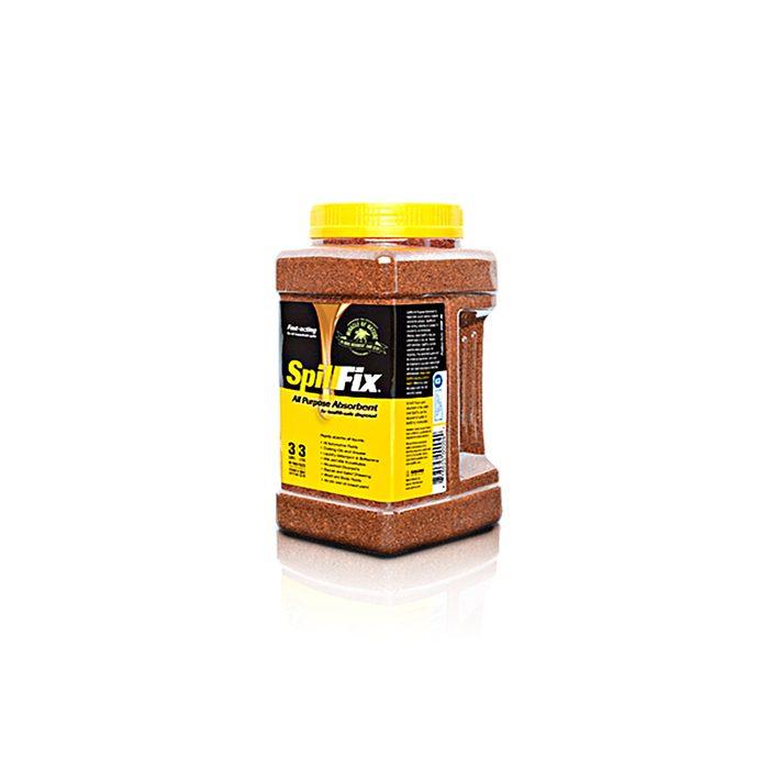 Bottle of Spill Fix compound | Construction Pro Tips