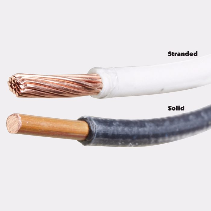 stranded wire vs solid wire