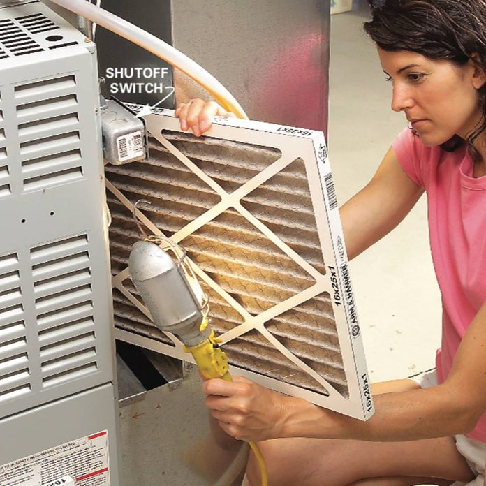 Check the furnace filter