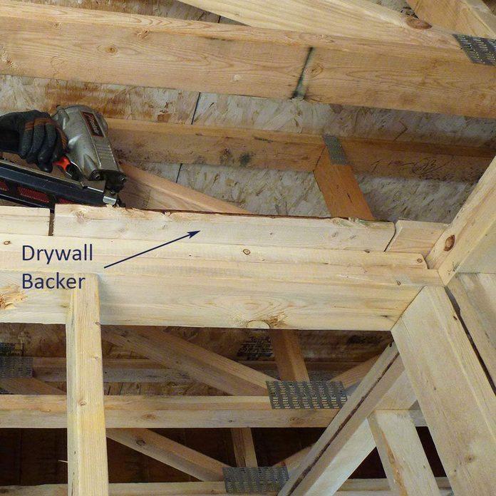framing drywall backing