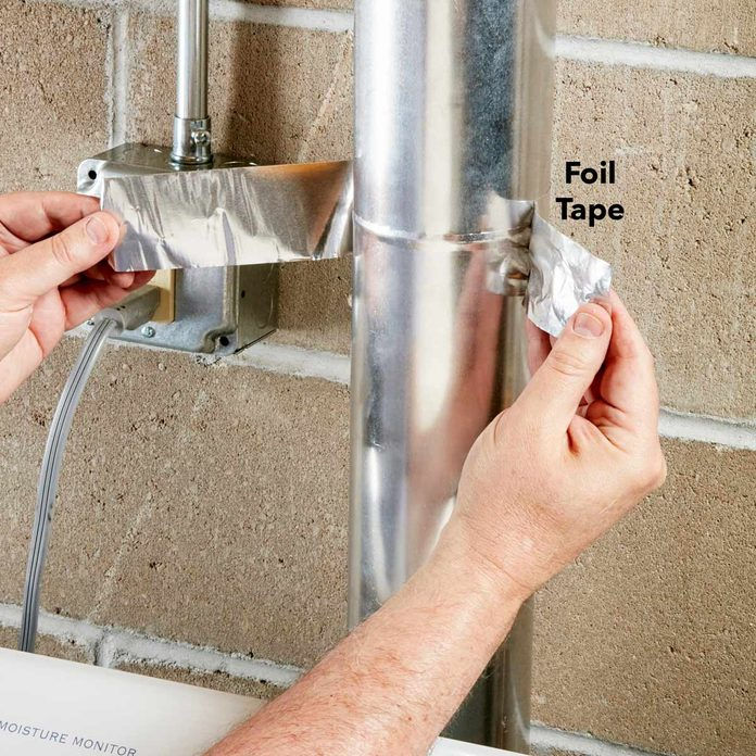 foil tape dryer ducts vent