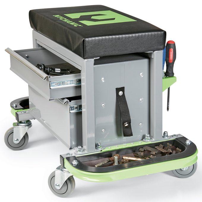 mechanics stool tool organization
