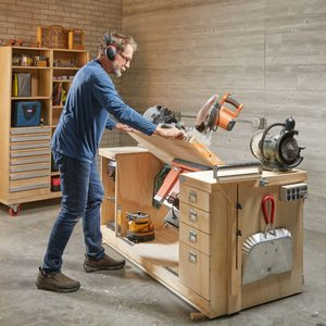 How to Build a Space-Saving Flip-Top Workbench