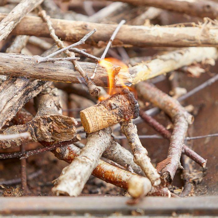 HH Handy Hint Wine Cork Fire starter