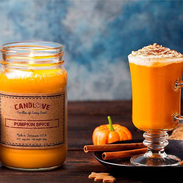 candlove pumpkin spice candle