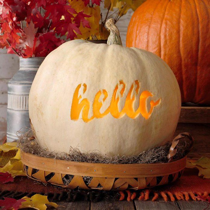 hello halloween pumpkin carving