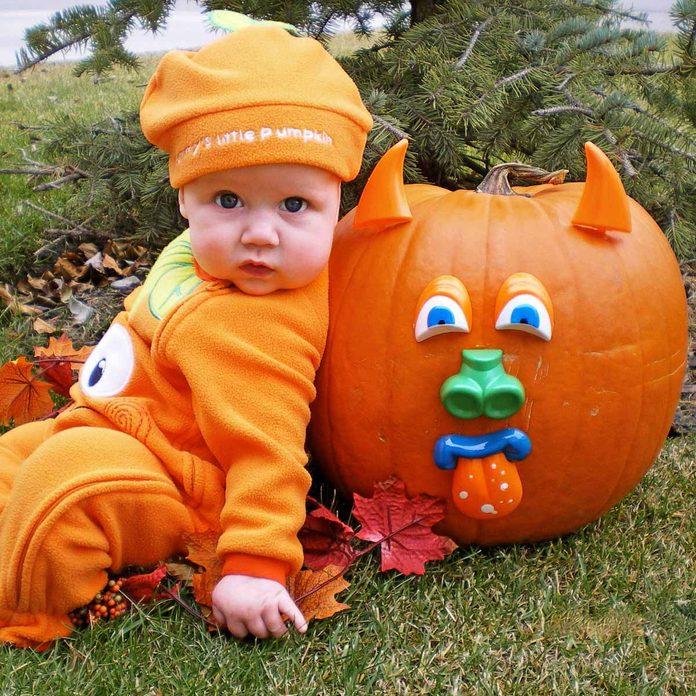 mom's little pumpkin mr potato head jack o'lantern