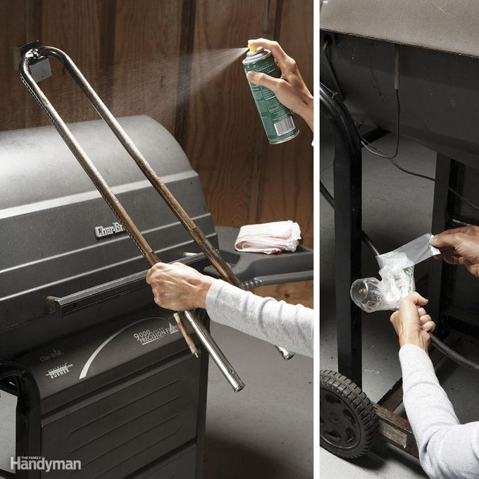 how to winterize grill