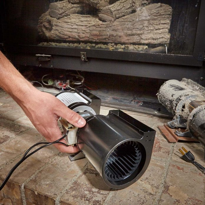 fireplace blower