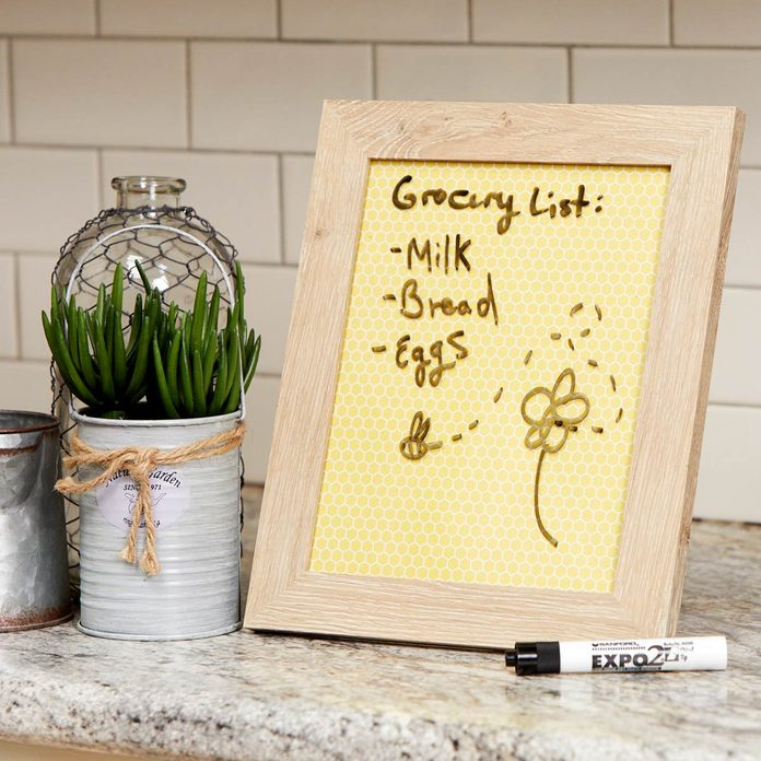 HH picture frame dry erase board