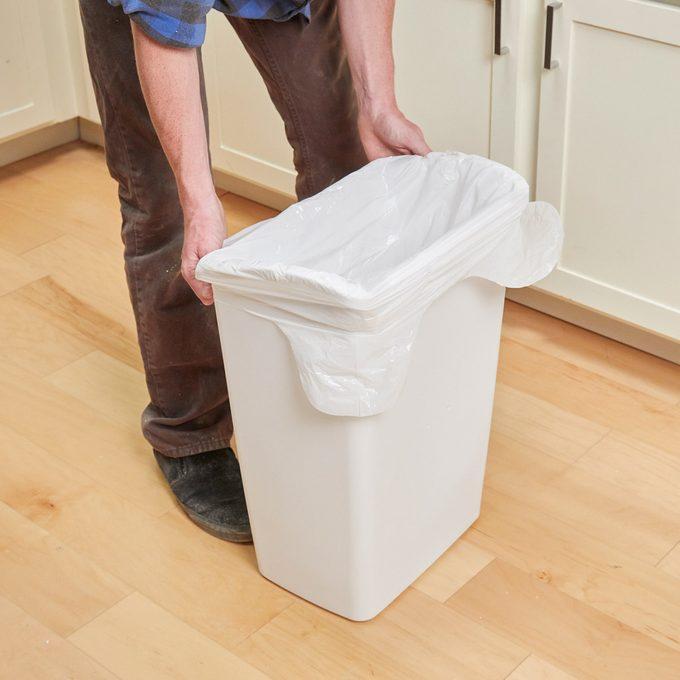 holey trash can