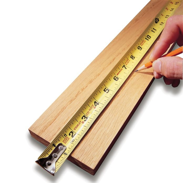 measure at 1 in on tape measure accuracy