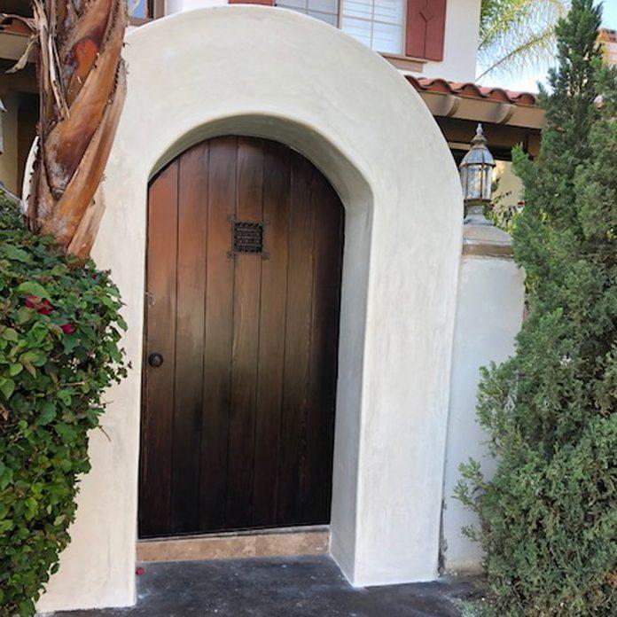 arched entryway