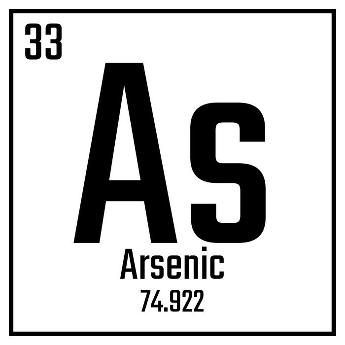A chemical symbol for Arsenic   Construction Pro Tips
