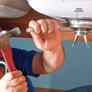 How to Replace a Kitchen Sink Basket Strainer