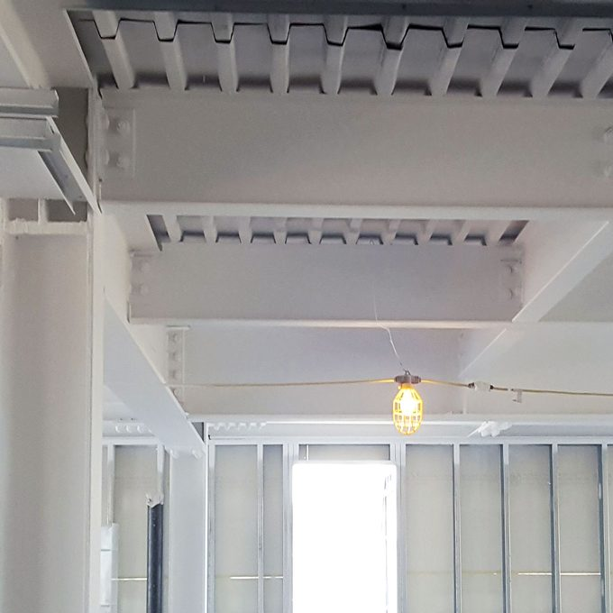 basement ceiling sprayed with fire retardant   Construction Pro Tips
