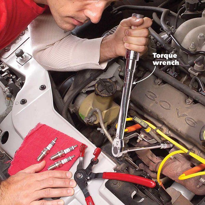 change spark plugs