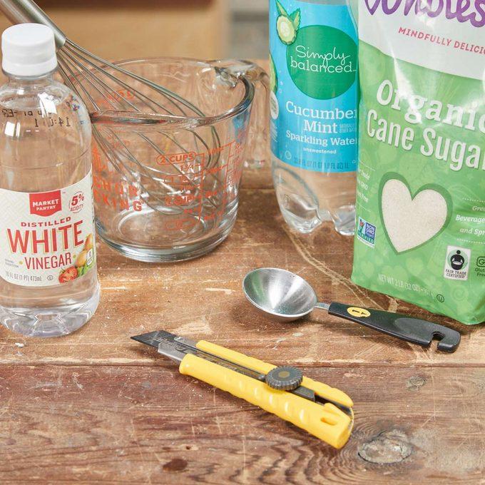 HH handy hints DIY bottle gnat trap vinegar