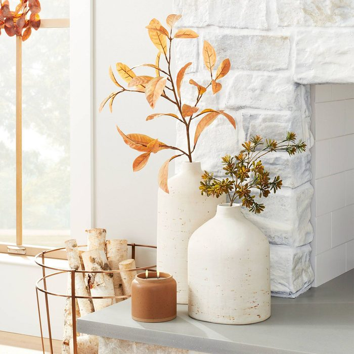 Hearth And Hand With Magnolia Distressed Ceramic Vase