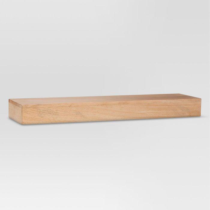 Threshold Pine Floating Shelf