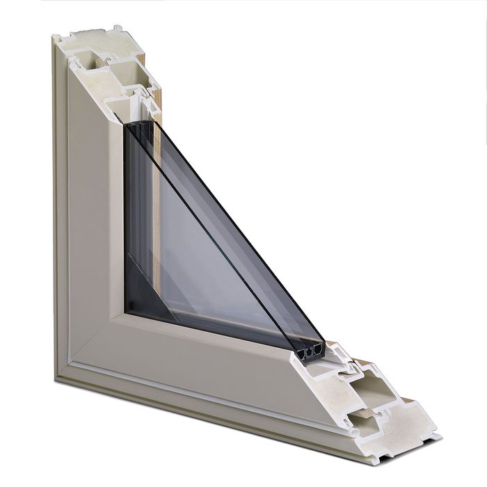 Cut away of the inside of an Alpen window   Construction Pro Tips