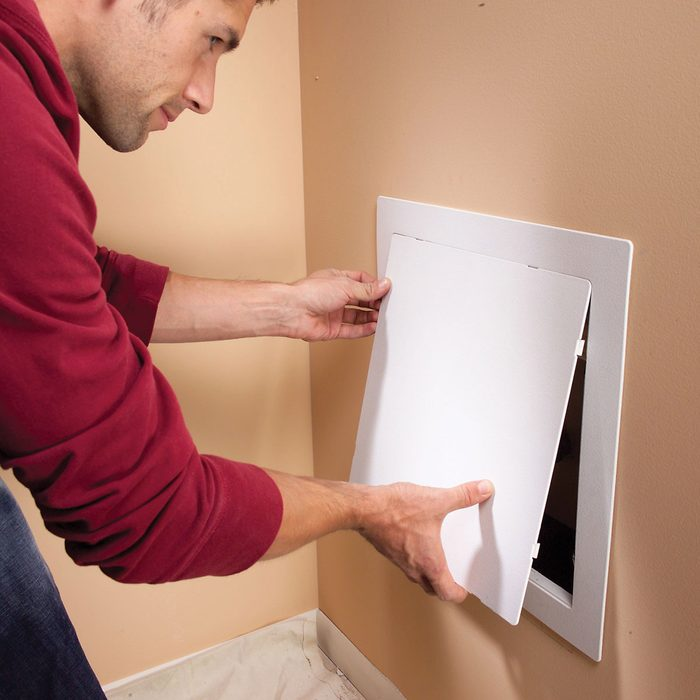 Installing a real access panel   Construction Pro Tips