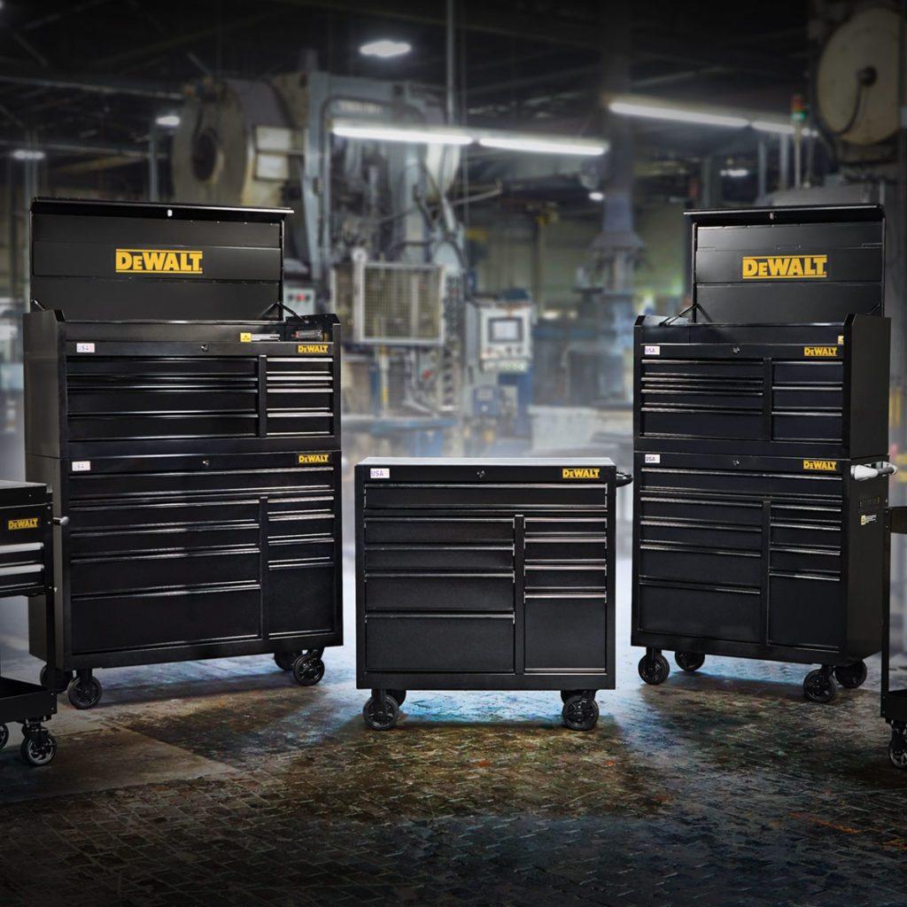 DEWALT Metal Storage Cabinets | Construction Pro Tips