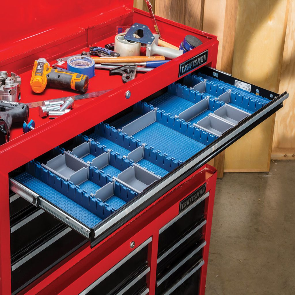 Rockler Drawer Organizing System | Construction Pro Tips