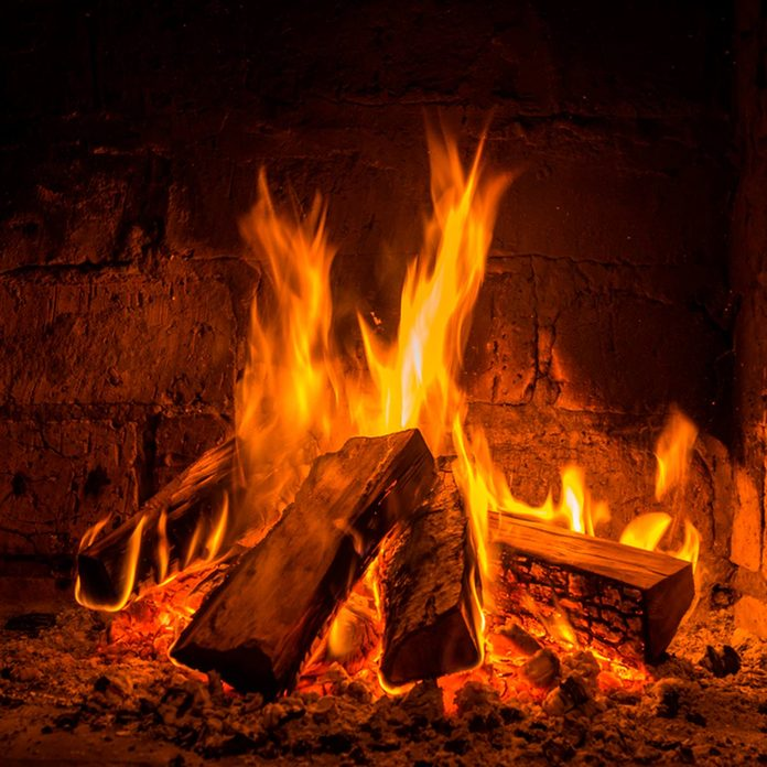 Your fireplace was not made for the heat created by accelerants.