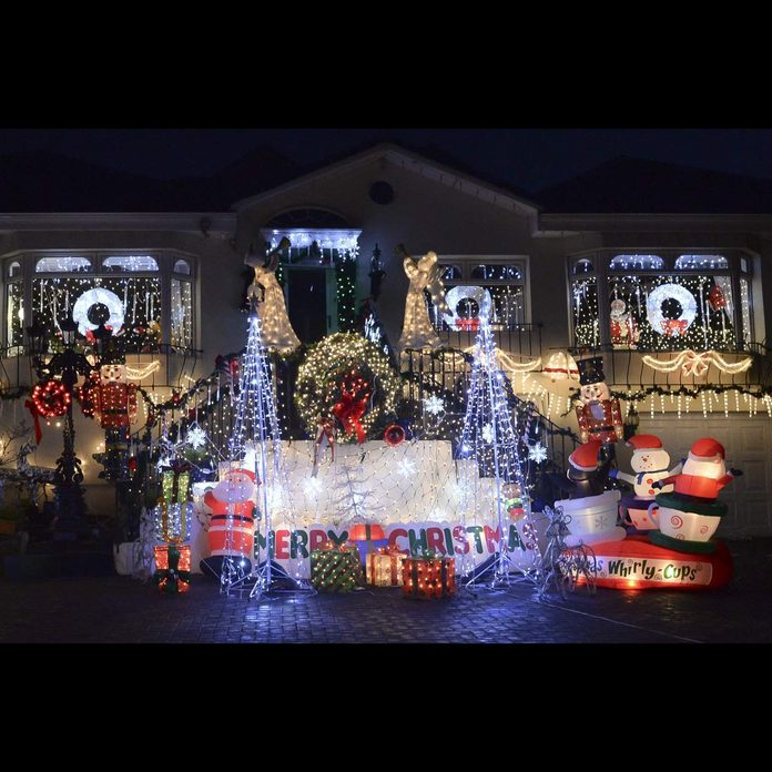 Dalkey Ireland Christmas lights