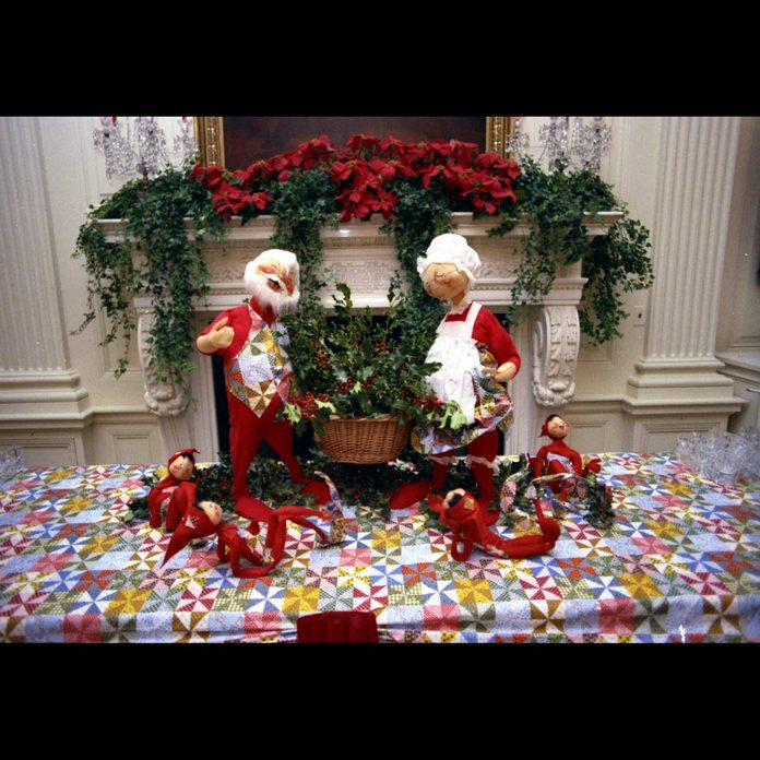 Ford White House Christmas Decoration