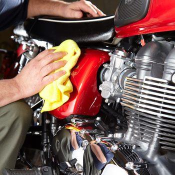 motorcycle wash