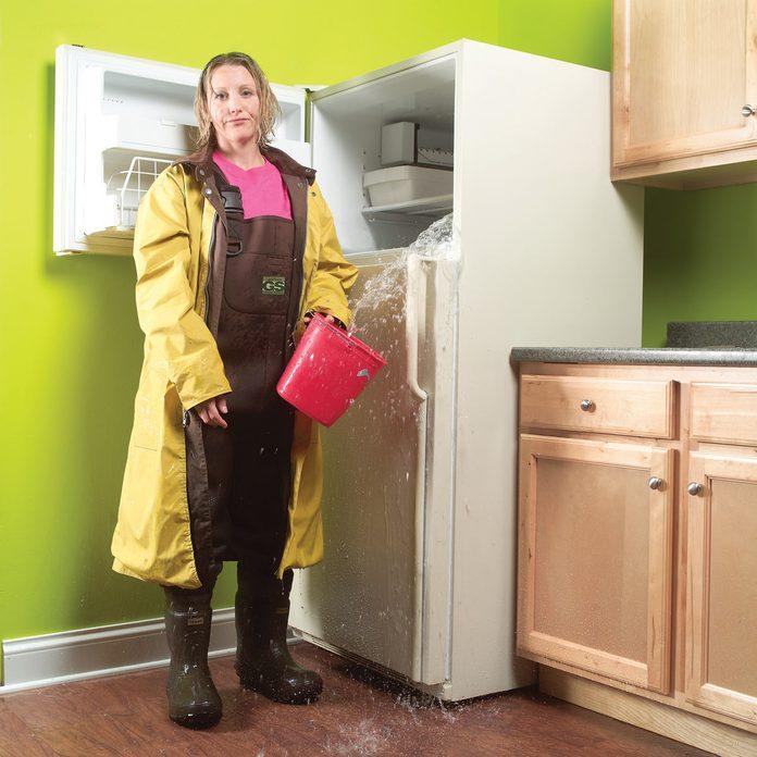 leaky refrigerator