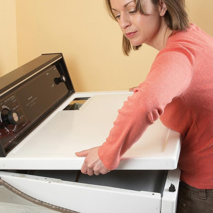 dryer lint cleaning