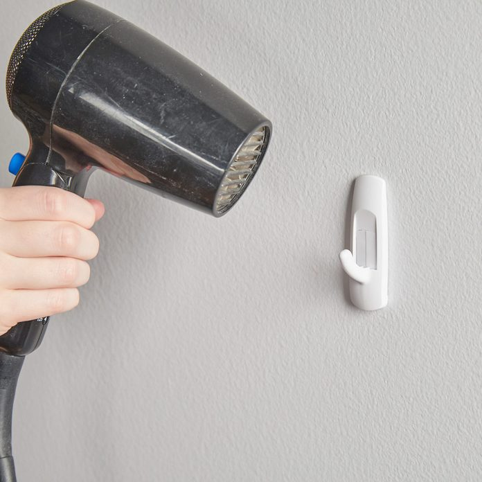 HH Handy hint hairdryer remove command hook