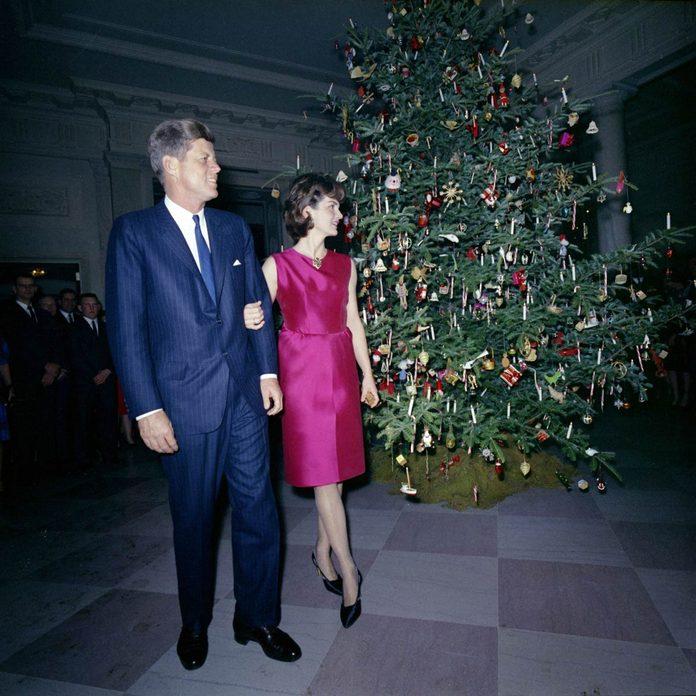 JFK 1962 Christmas tree