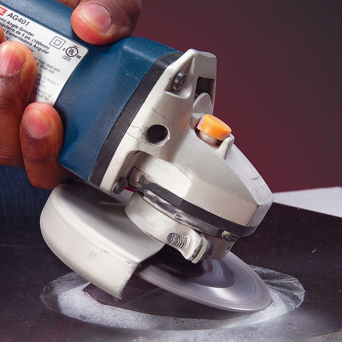 Cutting into tile with a grinder   Construction Pro Tips