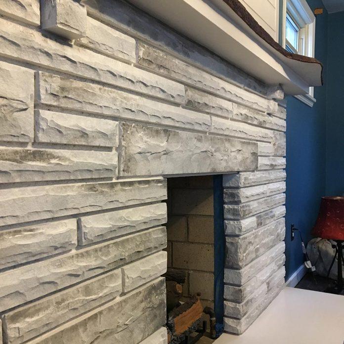 faux-finish-fireplace-brick