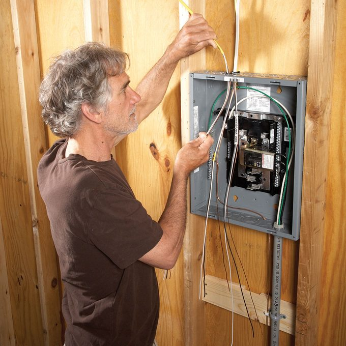 Installing an electrical panel   Construction Pro Tips