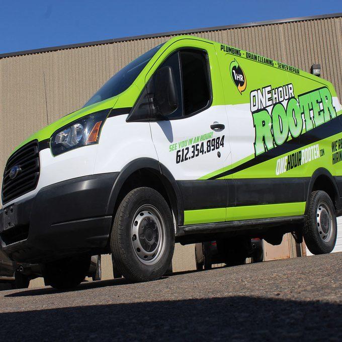 Sprinter van that has been decaled   Construction Pro Tips