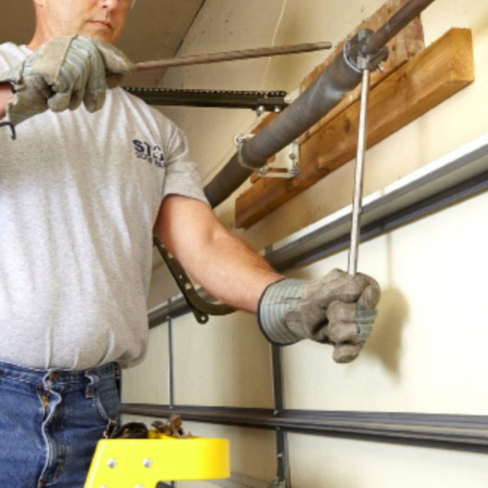 inserting two winding bars