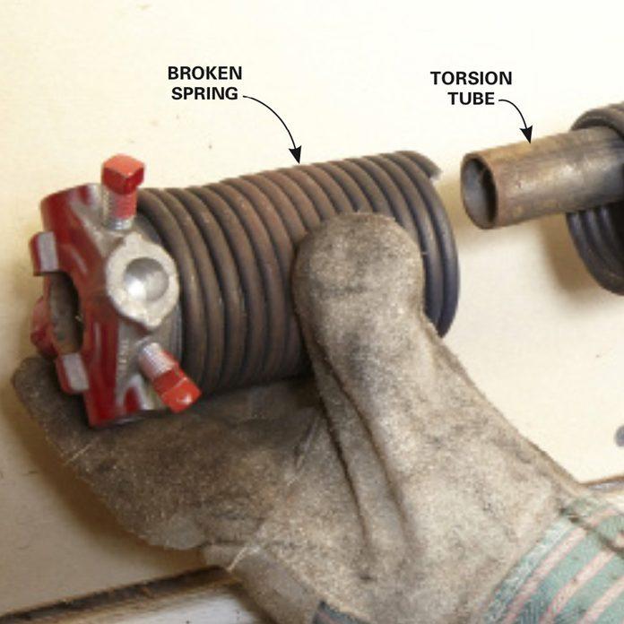 Sliding the torsion tube