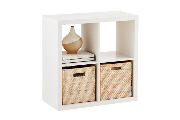 Cube cubby shelving