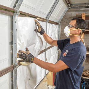 How to Insulate a Garage Door