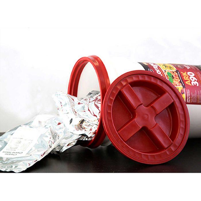 emergency food bucket