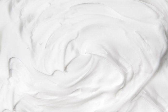 shaving cream background