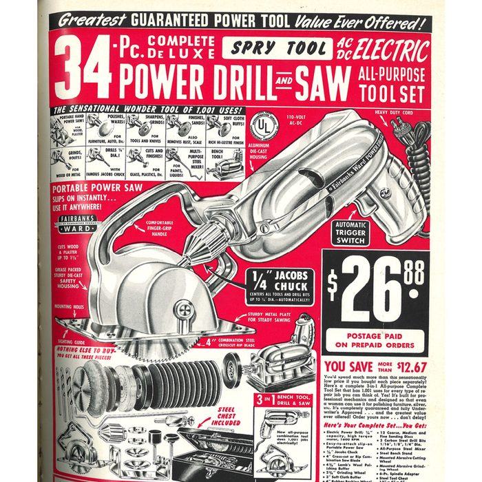 An ad for a power drill and saw combo tool   Construction Pro Tips