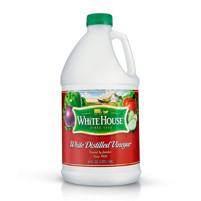 white distilled vinegar