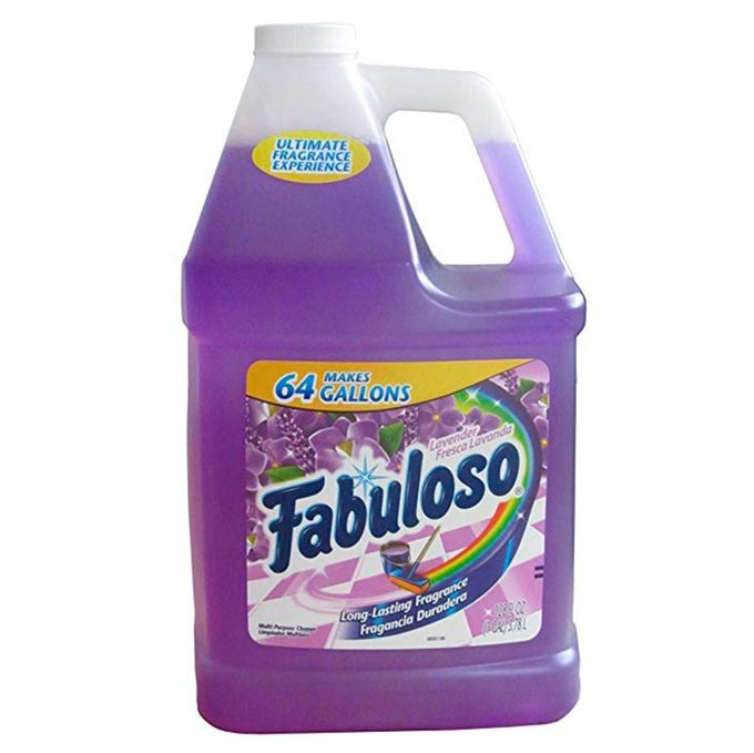 Fabuloso cleaning supplies